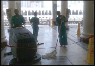 نظافة الحرم المكي تقرير مصور